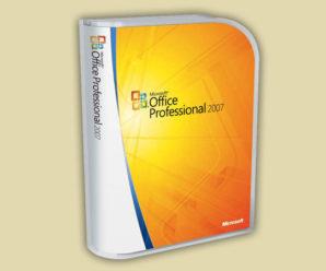 Лицензионные ключи для Офис 2007 на 2021-2020 год