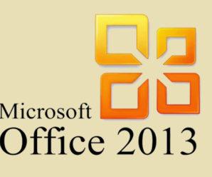 Лицензионный ключ активации Офис 2013 на 2019-2020 год