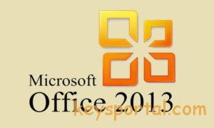 Лицензионный ключ активации Офис 2013