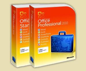 Лицензионный ключ для Microsoft Office 2010 на 2021-2020 год