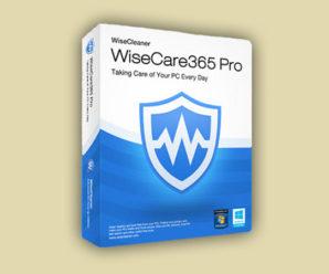 Wise Care 365 Pro + лицензионный ключ 2020-2021