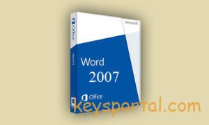 Ключи активацииWord 2007