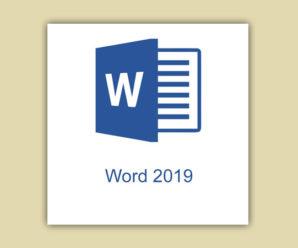 Рабочие ключи для Word 2019 лицензионные 2020