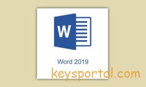Рабочие ключи для Word 2019 лицензионные