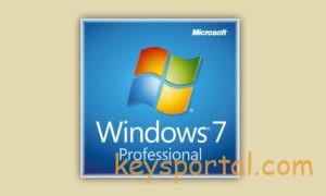 Ключи активации Windows 7 Pro Профессиональная x64-x32
