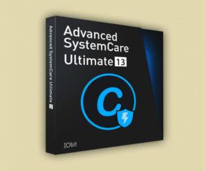 Advanced Systemcare Ultimate 13.3 лицензионный ключ 2020