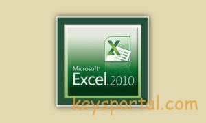 Excel 2010лицензионный ключ