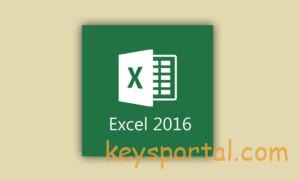 Excel 2016 лицензионный ключ