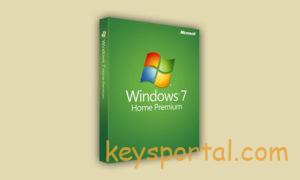 Ключи активации Windows 7 Домашняя