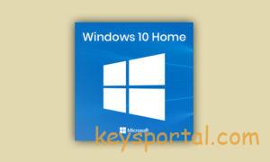 Лицензионный ключ Windows 10 Домашняя Home