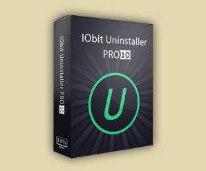 Iobit Uninstaller 10 Pro лицензионный ключ 2020-2021